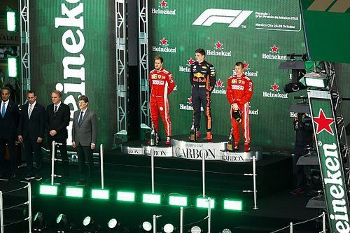 El ganador en México irá al podio con su auto