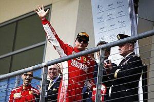 Course - Räikkönen enfin vainqueur, le sacre de Hamilton retardé