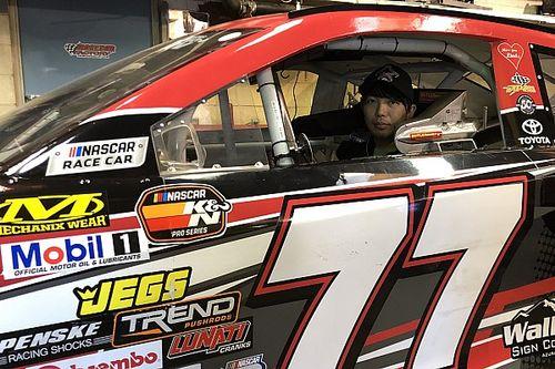 Piloto japonés competirá por título de NASCAR regional