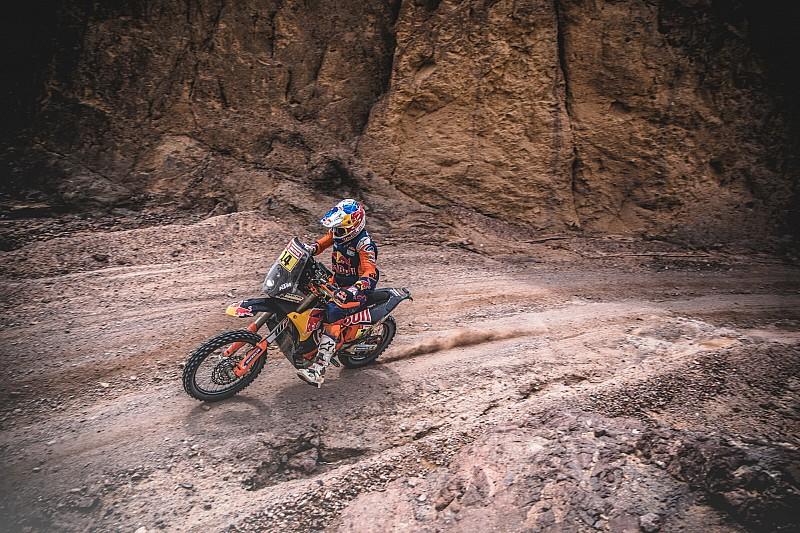 Dakar 2019, Stage 7: Sunderland fastest, Brabec leads again