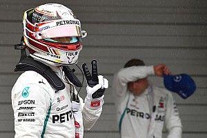 Hamilton y Mercedes logran una pole perfecta en Japón