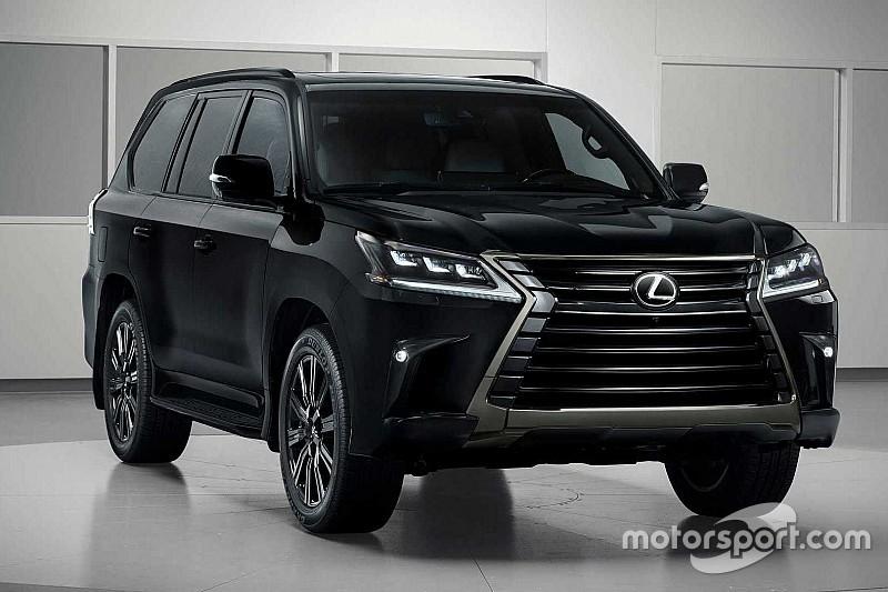 Lexus LX отримав ненатхнену версію Inspiration