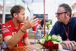 """Vettel: """"Ferrari es competitivo, pero no dominante"""""""