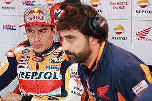 """Marquez: """"Il team mi ha legato alla sedia per non farmi girare"""""""