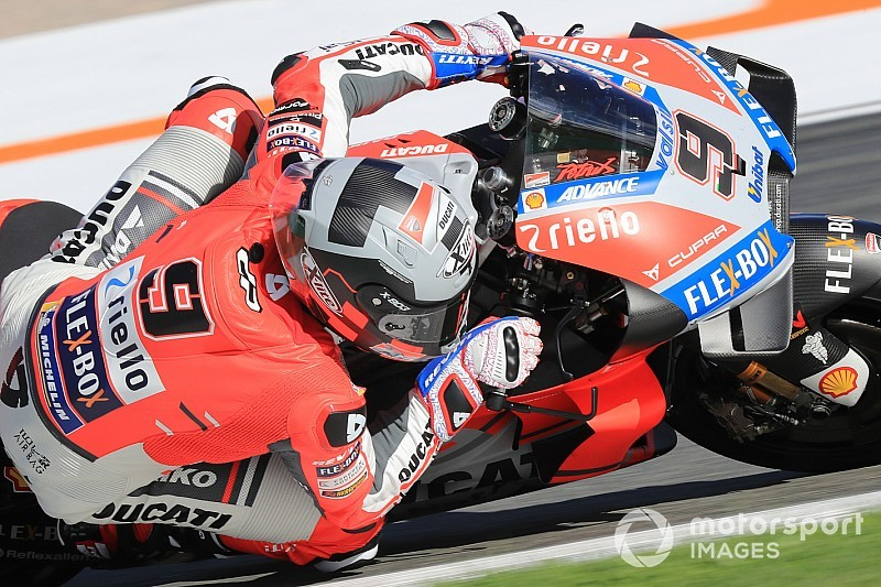 Petrucci fue el más rápido en el primer día de Jerez