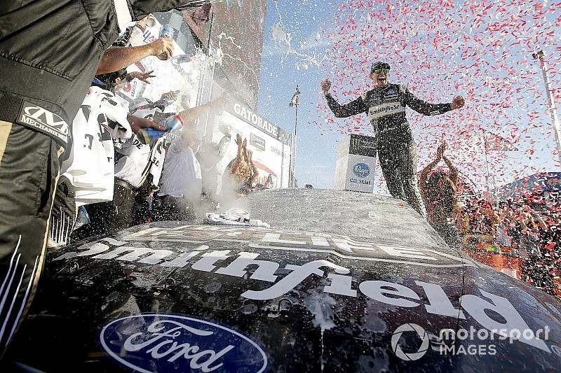 "Almirola: ""It was up to me"" to show I belonged at SHR"