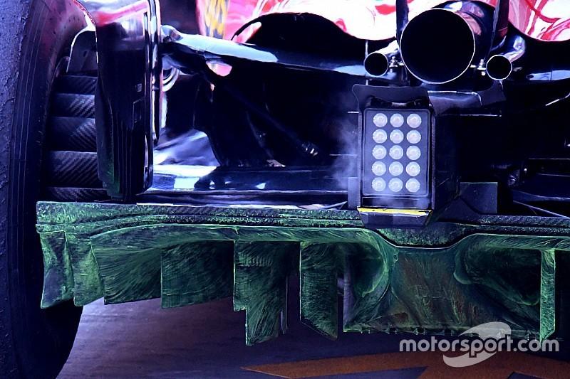 GALERÍA TÉCNICA: Las actualizaciones de los F1, directamente desde los garajes