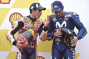 Marquez terpengaruh oleh jatuhnya Rossi