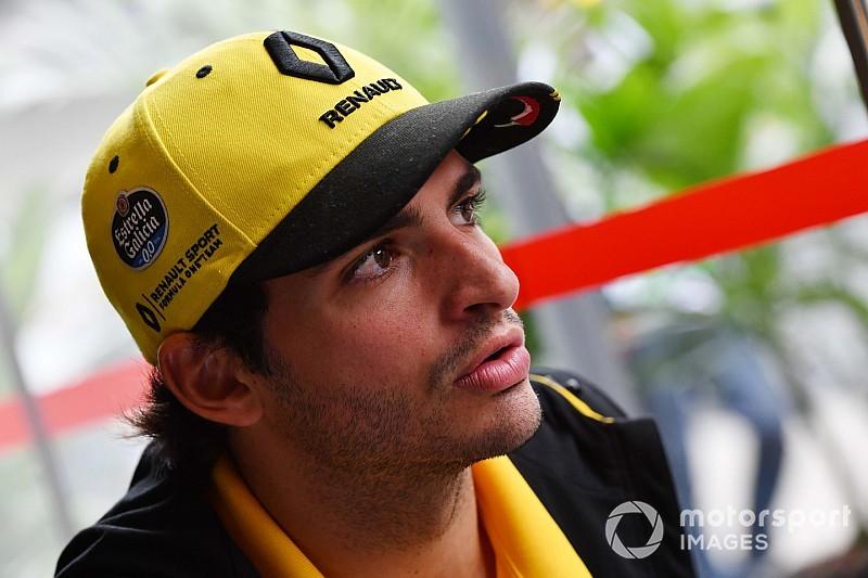 McLaren hands Sainz Abu Dhabi test run