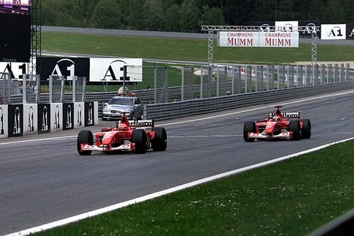 Как это было: скандальная рокировка Ferrari на Гран При Австрии-2002