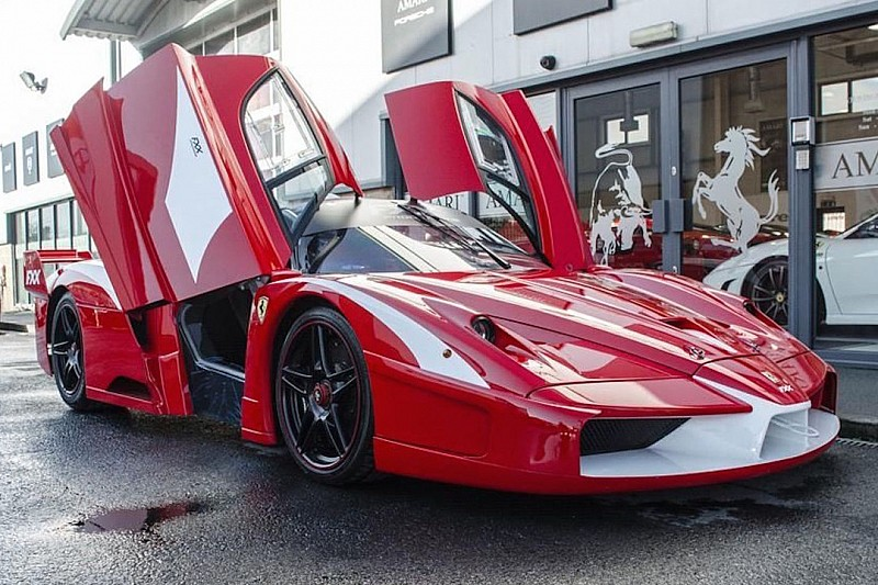 L'unique Ferrari Enzo FXX homologuée pour la route est en vente