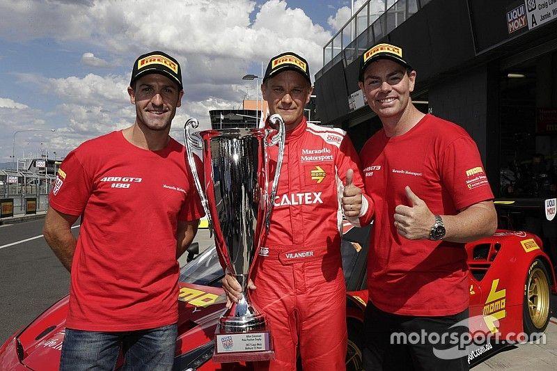 Pole para Ferrari en Bathurst gracias a un gran Vilander