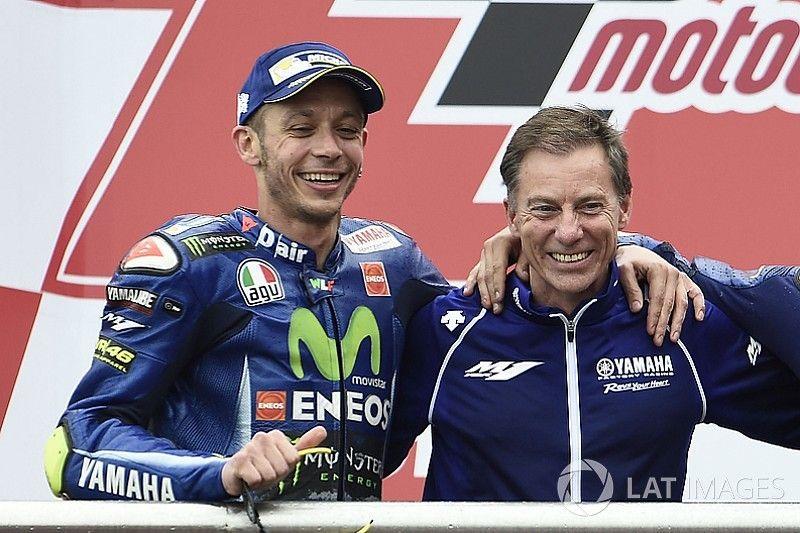Yamaha niega que Rossi haya renovado, pero espera que lo haga pronto