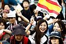 A suzukai tömeg Japánból: óriási F1-es hangulat