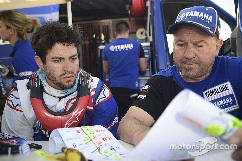 Caimi, el sueño argentino y de Yamaha para el Dakar