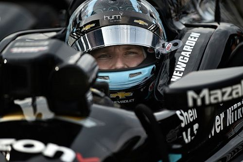 Iowa IndyCar: Newgarden leads Penske 1-2-3 in first practice