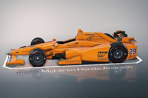Explore carro de Alonso da Indy 500 em gráfico 3D