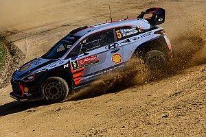 WRC Portugal: Neuville en Ostberg delen leiding na eerste proef