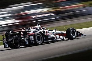 Detroit IndyCar: Rahal leads opening practice