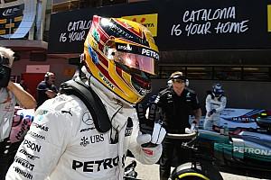 هاميلتون يتجاوز فيتيل للفوز بسباق إسبانيا