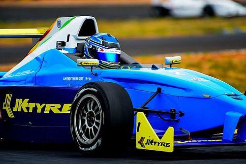 Coimbatore JK Tyre: Gritty Reddy takes win in Race 2