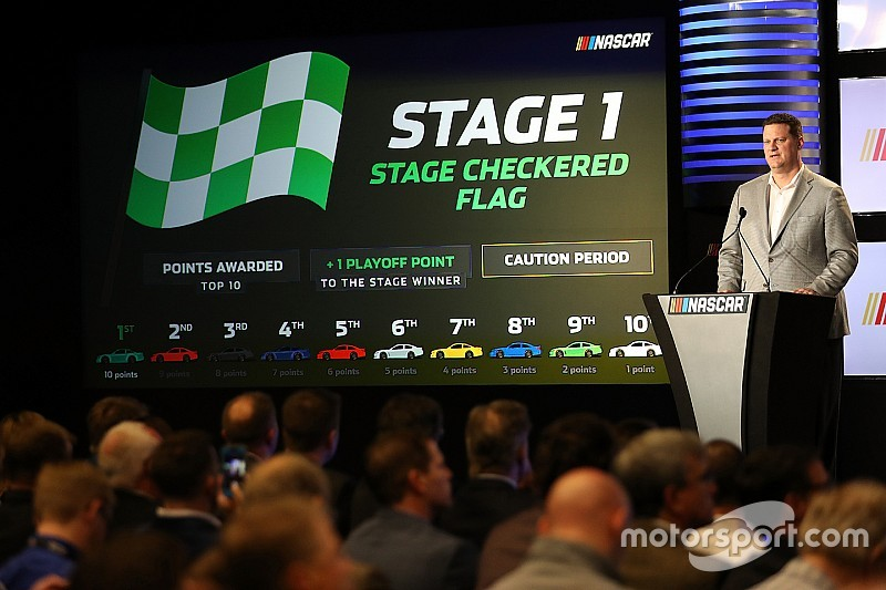 NASCAR changes another step forward for the sport
