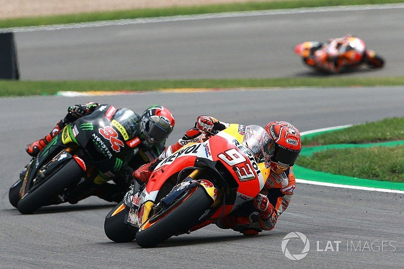 Sachsenring MotoGP: Top 25 photos from the race