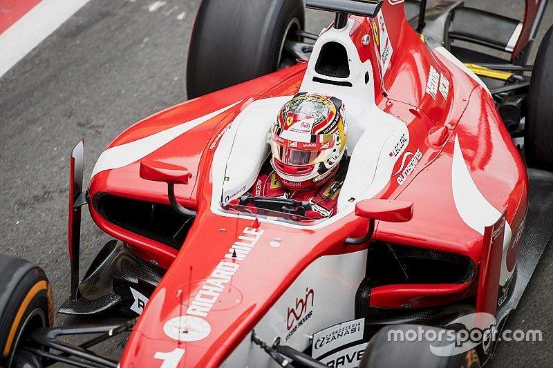 F2 Hungaroring: Leclerc nipt snelste, De Vries derde ondanks crash