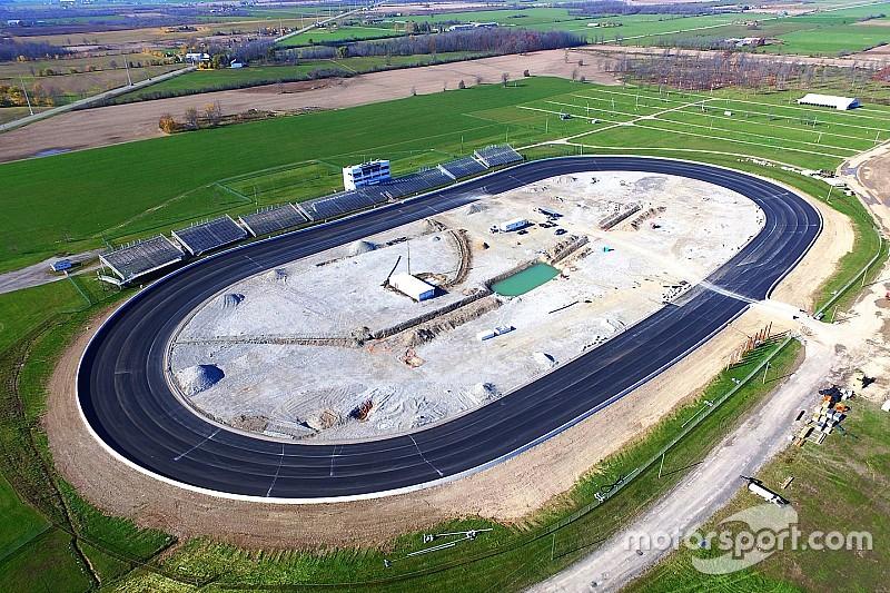 Jukasa Motor Speedway is taking shape in Canada