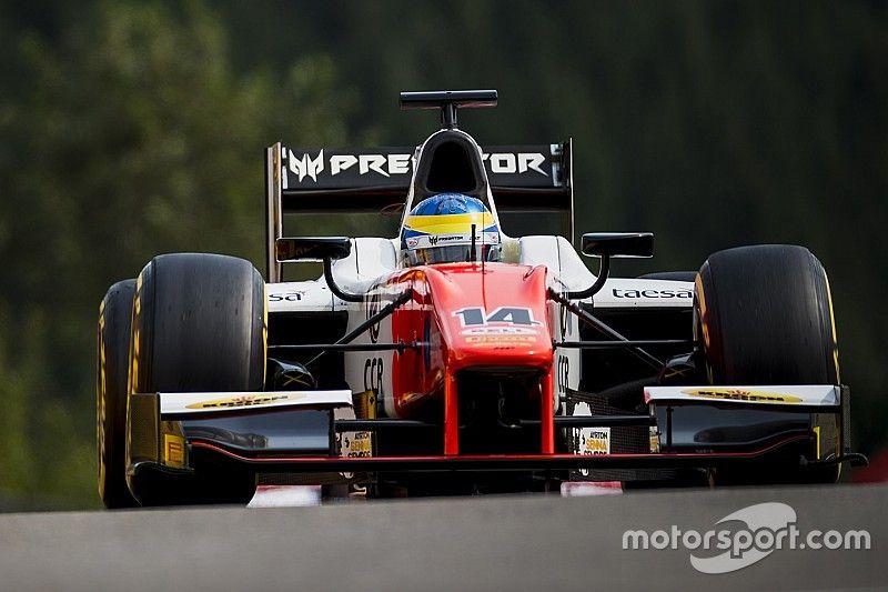 فورمولا 2: سيتي كامارا يحقّق فوزه الأوّل خلف سيارة الأمان في سبا