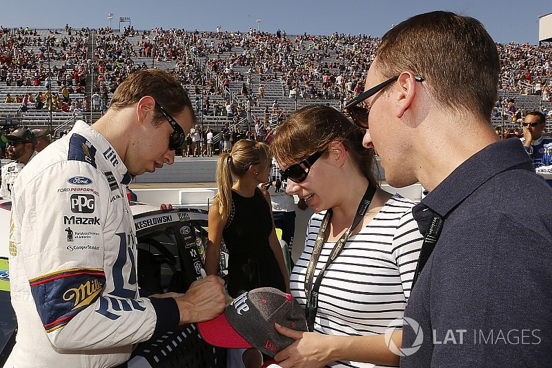 "Keselowski: More drivers need to be ""on board"" with promoting sport"