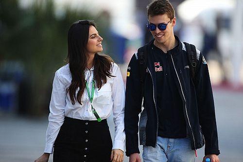 Após nascimento da filha, Kvyat dedica pódio histórico na F1 à neta de Nelson Piquet