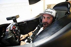 Galeri: Fernando Alonso'nun IndyCar kokpitinden ilk görüntüleri