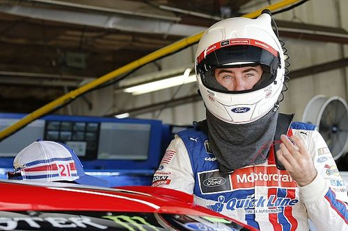 Ryan Blaney tops final NASCAR Cup practice at Bristol