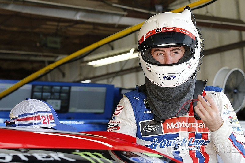 Ryan Blaney tops final NASCAR Cup practice at Bristol