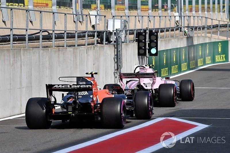 Formel 1 2017 in Spa: Das Trainingsergebnis in Bildern