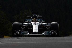 Hamilton dá troco em Kimi e lidera sexta na Bélgica