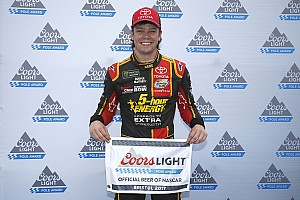 NASCAR Cup Qualifying report Rookie Erik Jones captures first Cup pole at Bristol