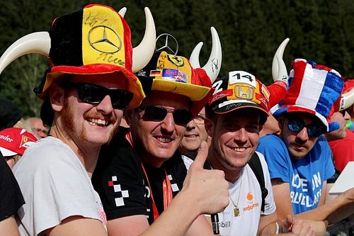 Belgian GP: Top photos from Thursday