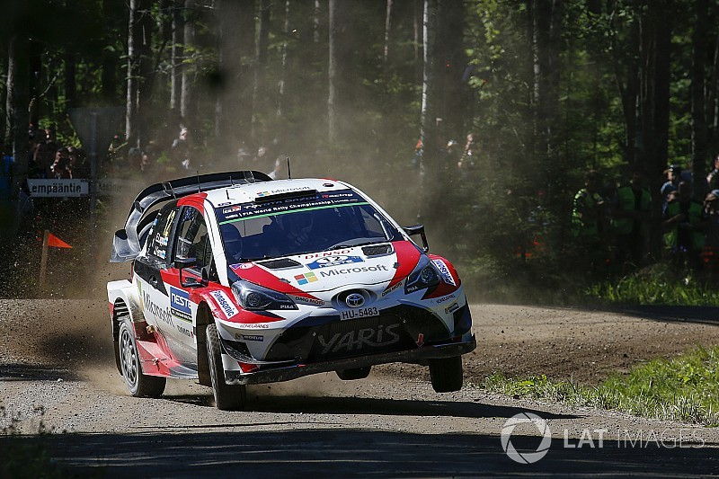 Ogier says Toyota the benchmark for Finland