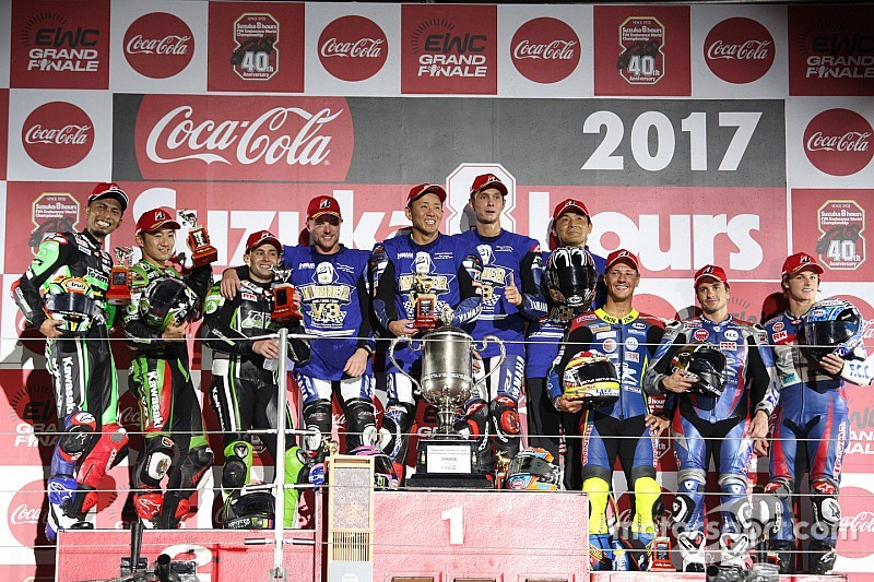 【鈴鹿8耐】決勝レポート:ヤマハファクトリー完勝で3連覇