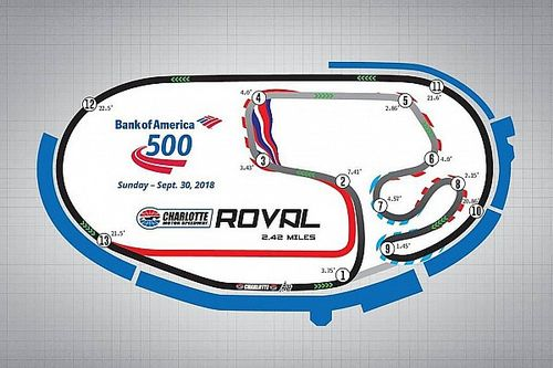 Video: NASCAR tovert oval om tot circuit voor Playoffs 2018
