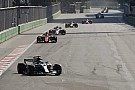 Formula 1 Chaotic Azerbaijan GP red-flagged due to debris on track