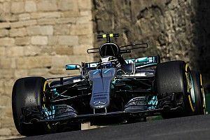 【F1】バクーFP3速報:ボッタス首位。ライコネン0.095秒差で2番手