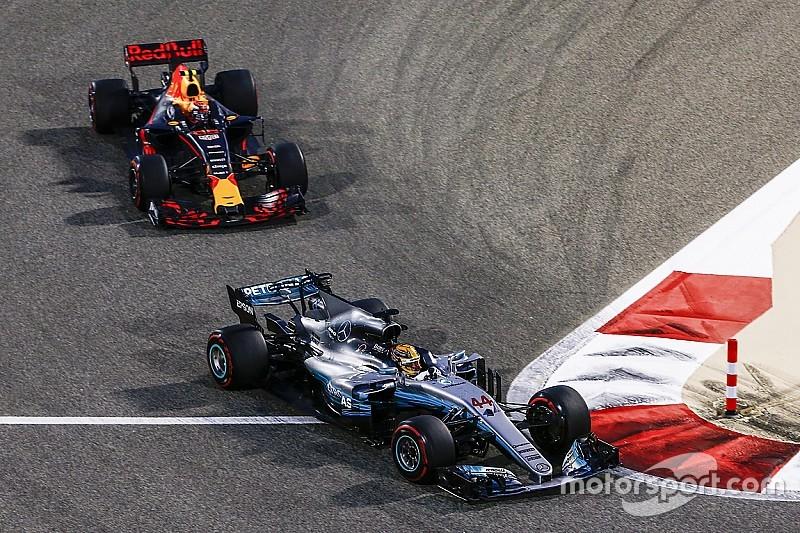 Los adelantamientos en la F1 bajan un 70% respecto a las primeras carreras de 2016