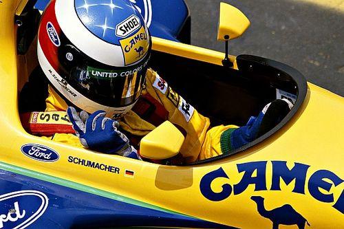 Vídeo: el primer podio de Michael Schumacher en Fórmula 1