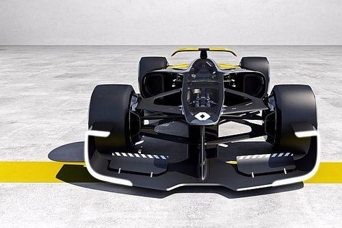 Formel 1 2027: Renault präsentiert spektakuläre F1-Designstudie