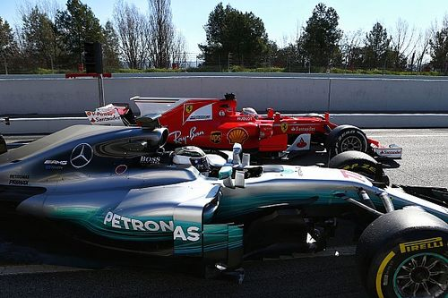 Analisi test Barcellona: Ferrari all'attacco, Mercedes in difesa