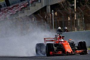 【F1】合同テスト4日目午前:ウエットテスト実施。マクラーレン3番手