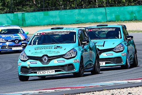 Composit Motorsport a quattro punte nella Clio Cup Italia 2018
